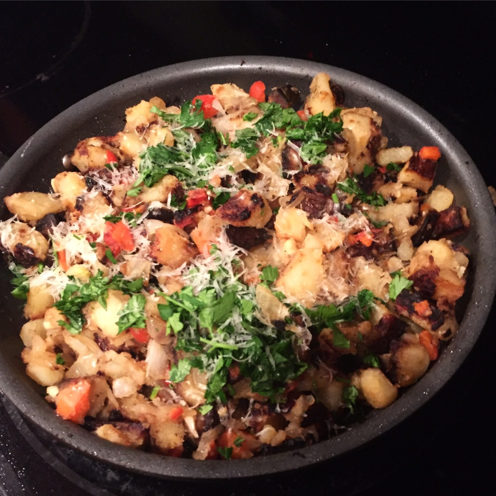 Potato Hash and Peppers